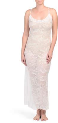Boudoir Longer Lace Gown