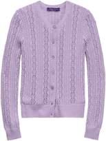 Ralph Lauren Pointelle-Knit Cardigan