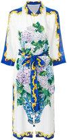 Dolce & Gabbana patterned shirt dress