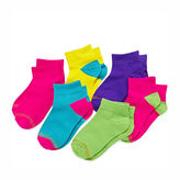 Gold Toe 6-pk. Neon Quarter Socks