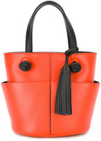 Tod's Anf pendant tote - women - Leather - One Size