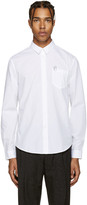 Carven White Paperclip Shirt