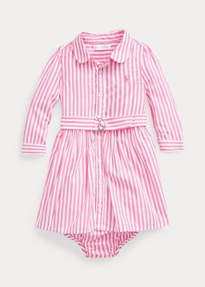 Ralph Lauren Shirtdress, Belt & Bloomer