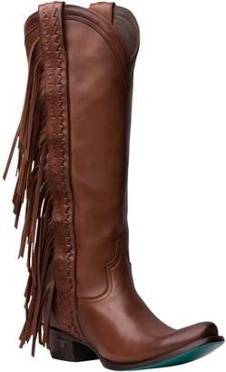 Lane Boots Katori Fringe Shaft Knee High Western Boot