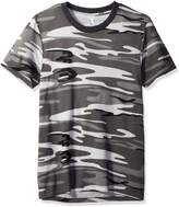 Alternative Men's Eco Jersey Printed Crew T-Shirt, Grey Camo, S