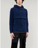 Tommy Hilfiger Logo-print funnel-neck fleece hoody