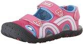 Kamik Sea Turtle Sandal (Toddler/Little Kid/Big Kid), Pink, Big Kid
