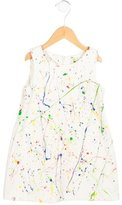 Lisa Perry Girls' Printed Crew Neck Dress w/ Tags