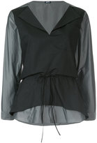 Jil Sander Navy classic shift blouse
