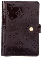 Louis Vuitton Vernis Small Ring Agenda Cover