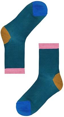 Happy Socks Hysteria By Grace Ankle Sock (Light/Pastel Yellow) Women's Crew Cut Socks Shoes