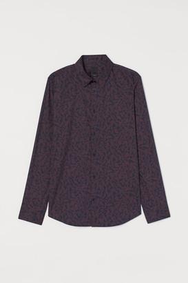 H&M Stretch shirt Slim fit