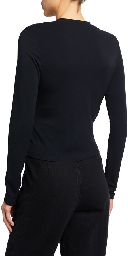 Thumbnail for your product : Ambush Knotted Long-Sleeve T-Shirt