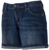 Apt. 9 cuffed denim shorts