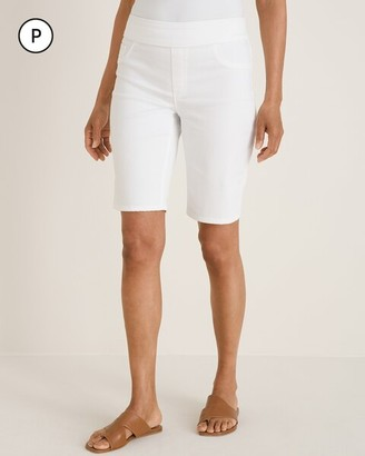 Chico's Petite No-Stain Pull-On Shorts