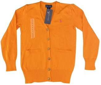 Ralph Lauren Orange Cotton Knitwear