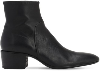 Premiata 50mm Leather Zip-up Boots