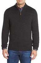 Nordstrom Quarter Zip Mock Neck Sweater