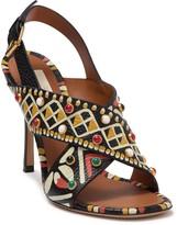 Valentino Colorful Slingback Sandal