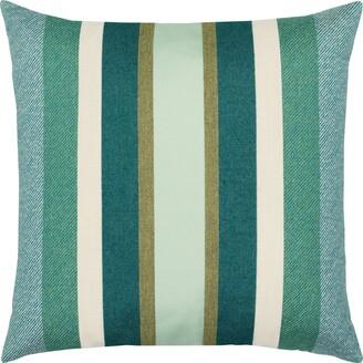 Elaine Smith Juniper Stripe Indoor/Outdoor Accent Pillow