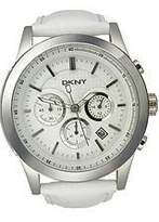 DKNY Sport Leather Chronograph Dial Men's Watch #NY1439