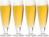 Mikasa Brewmasters Pilsner Glasses, Set of 4