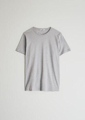 Need Women's Short Sleeve Dye T-Shirt in Heather Grey, Size Large | 100% Cotton