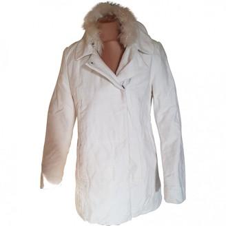 ADD White Wool Coat for Women