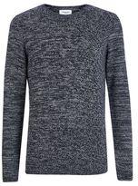 Burton Burton Nowadays Navy Knitted Pullover Jumper*