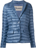 Herno padded blazer - women - Feather Down/Polyamide/Polyester/Feather - 44