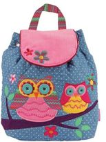 Stephen Joseph Owl Signature Collection Backpack in Chambray