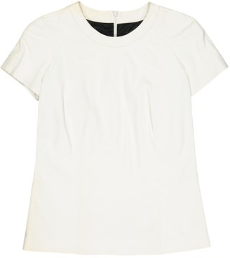 Barbara Bui White Leather Top for Women