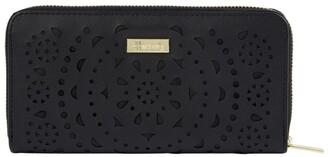 Harrods Lace Cut-Out Long Wallet