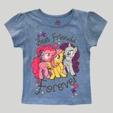 My Little Pony Toddler Girls' Short Sleeve T-Shirt - Blue