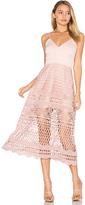Karina Grimaldi Alice Crochet Dress