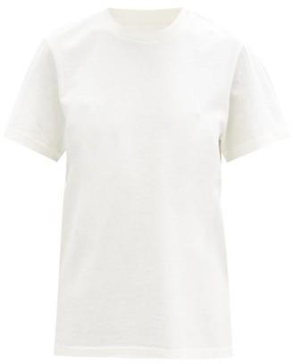 Bottega Veneta Sunrise Cotton-jersey T-shirt - Ivory