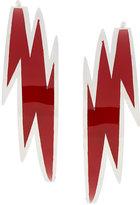 DSQUARED2 lightening bolt earrings