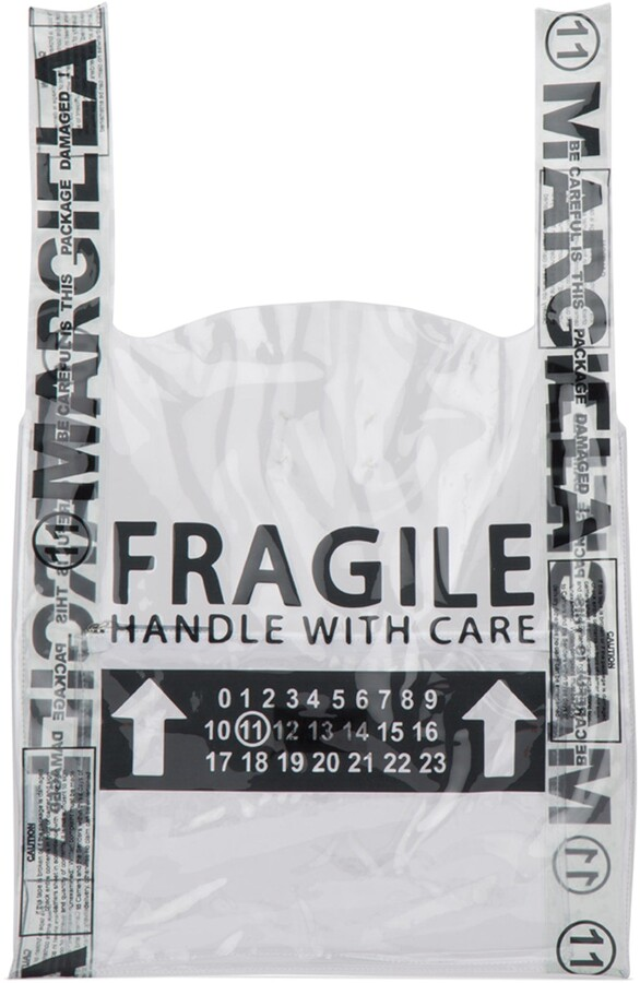 Thumbnail for your product : Maison Margiela Fragile Tote Bag