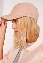 Missguided Nude Good Vibes Embroidered Cap