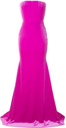 Alex Perry Payson strapless gown