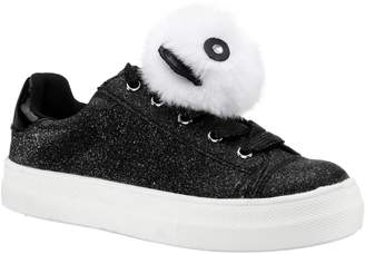 Nina Britteni Animal Pompom Glitter Sneaker