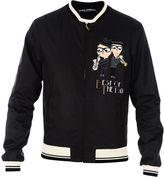 Dolce & Gabbana Black Musician Designers Bomber Jacket