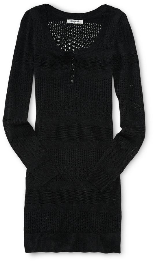 Aeropostale Knit Sweater Dress