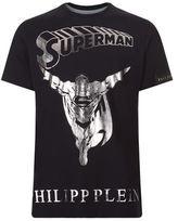 Philipp Plein Flying Superman T-shirt