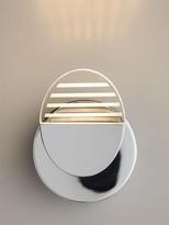 John Lewis & Partners Radar LED Bathroom Wall Light, Chrome