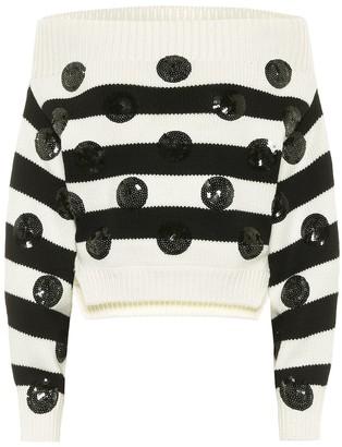 Monse Embellished merino wool sweater