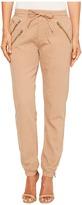 Romeo & Juliet Couture Multi Zipper Ankle Length Pants