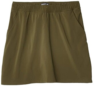 Toad&Co Sunkissed Weekend Skort (Olive) Women's Skort
