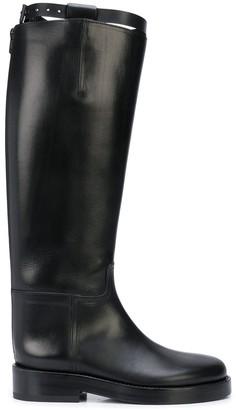 Ann Demeulemeester Knee Length Riding Boots