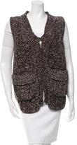 Saint Laurent Wool Knit Vest